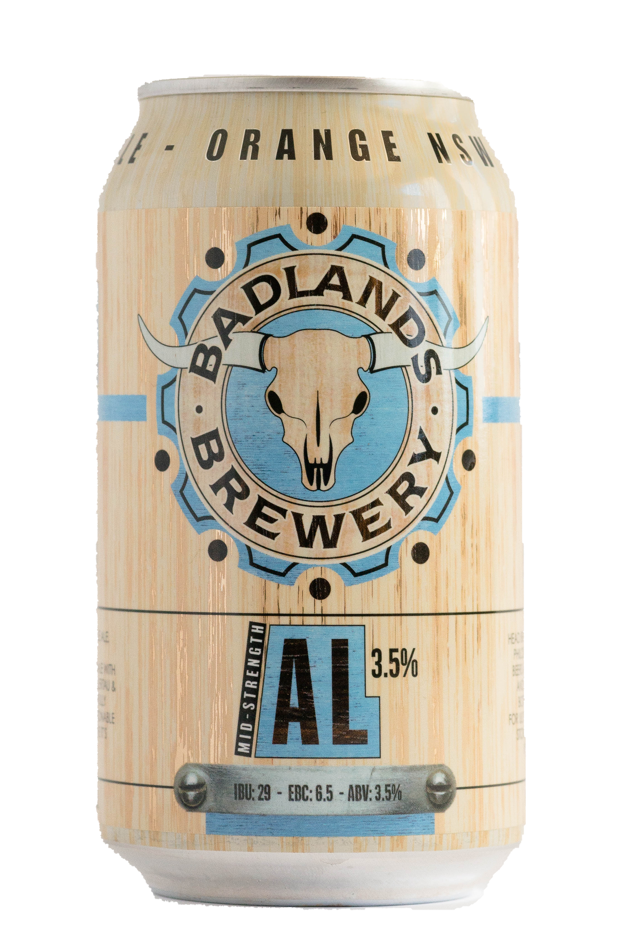 Badlands Brewery 'AL - Mid Strength' Case (24 Cans)