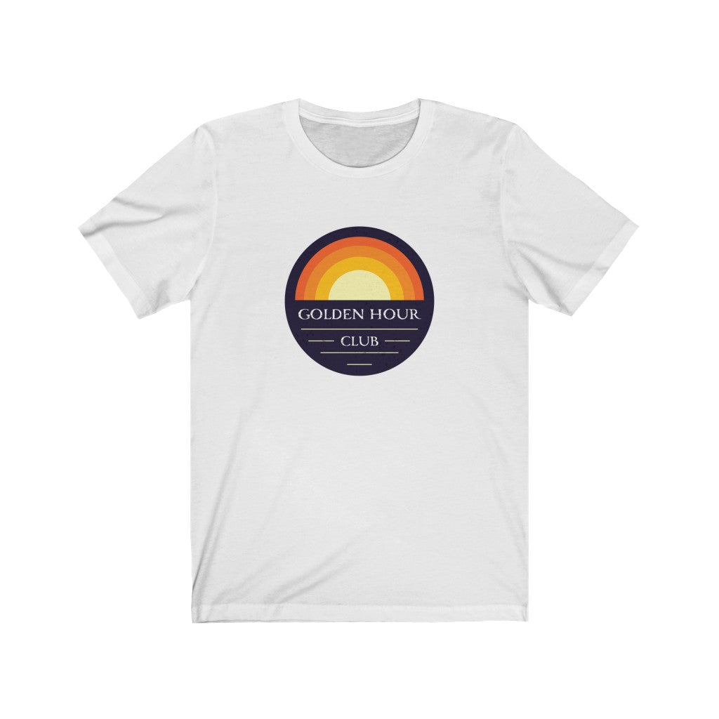 """Golden Hour Club"" By Circa - Unisex Jersey Short Sleeve Tee"
