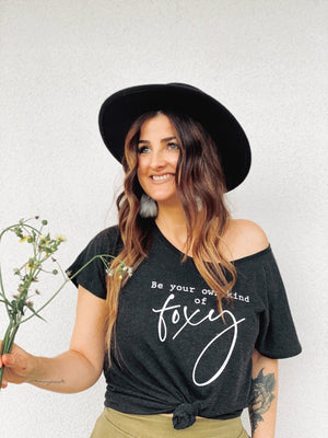 """Be your own kind of Foxy"" by Foxtail Florals + Midnight Confetti"