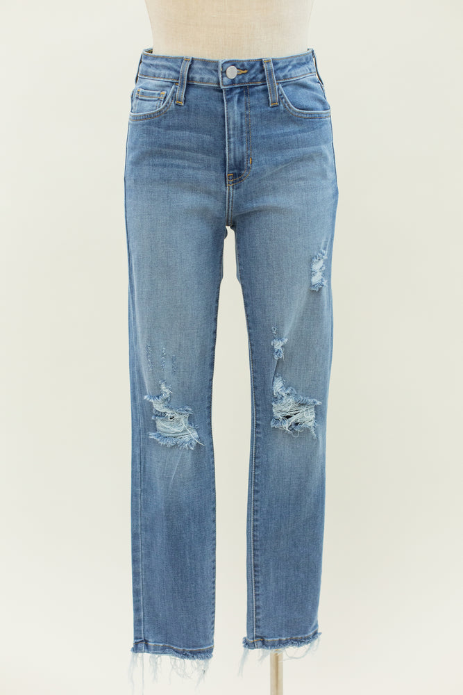 High Rise Destructed Skinny