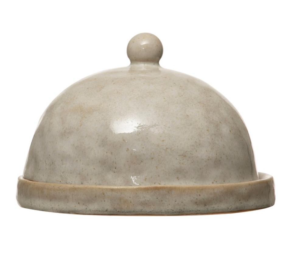 Load image into Gallery viewer, Stoneware Domed Dish