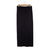 point knits ribbed maxi