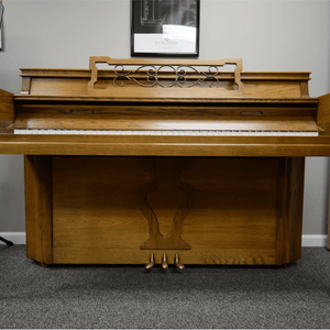 "Everett Oak Satin Console (41"")"