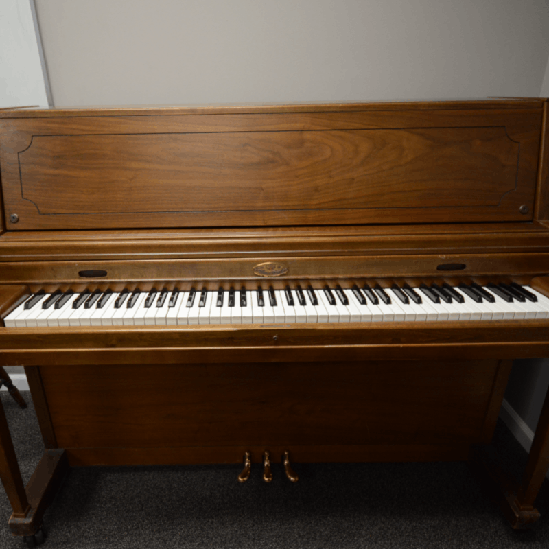 "(Rental) Wurlitzer Walnut Polish Studio (45"")"