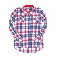 Roots shirt, plaid shirt, shirt for girls, Roots for girls