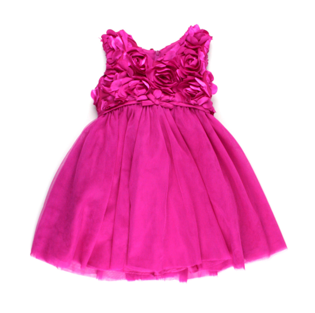 fancy dress for girls, formal dress for girls, fuchshia dress, Pippa & Julie, pink dress