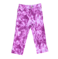 purple pants, Children's Place pants, tie-dye pants, girls pant
