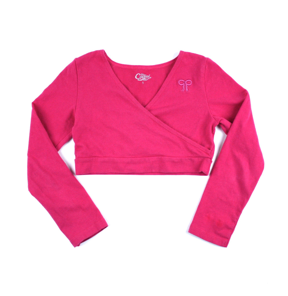 Collini top, fuchsia top for girls, cropped top for girls