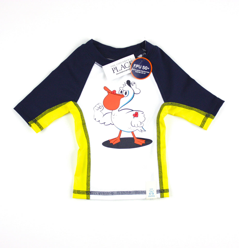 Children's Place rashguard, boys rashguard, swim shirt, boys swimwear