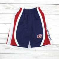NHL shorts, Habs shorts, hockey shorts, Canadiens shorts, boys shorts