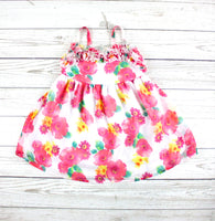 Children's Place dress, little girls dress, floral dress, dress for girls