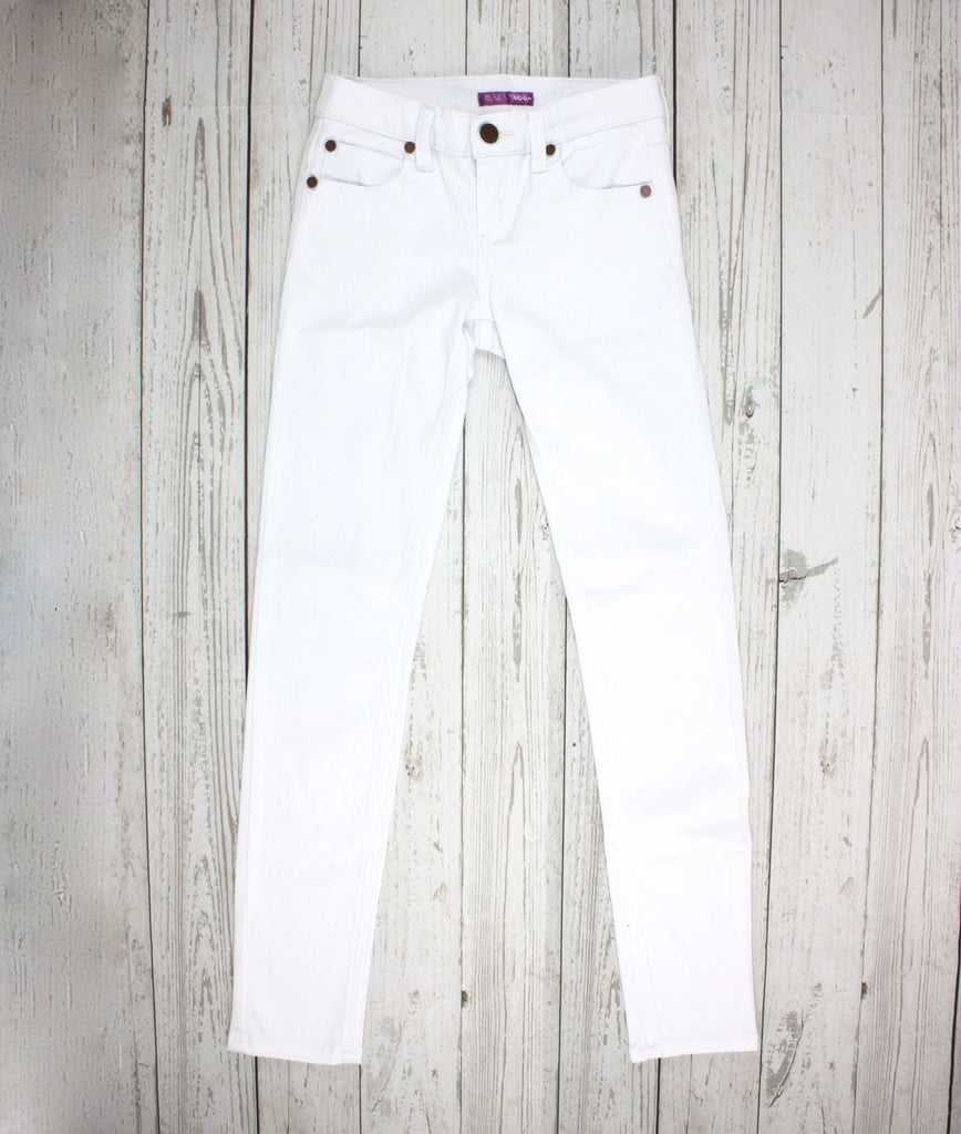 white jeans, girls jeans, Aqua clothing, Aqua pants, girls pants, white pants
