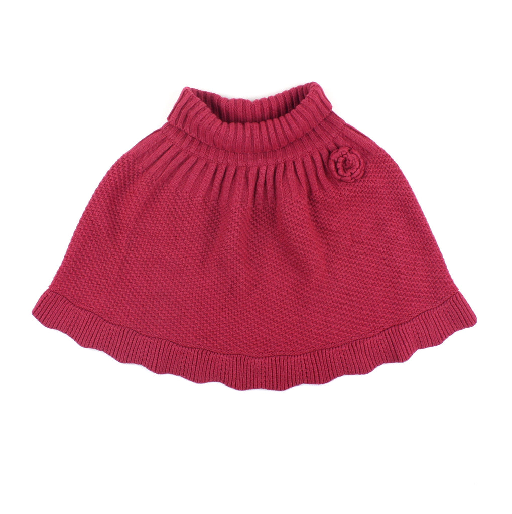 Krickets Elite, poncho, plum poncho, poncho for girls, Krickets sweater