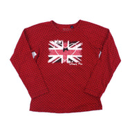 Souris Mini t-shirt, Souris Mini for girls, union jack t-shirt