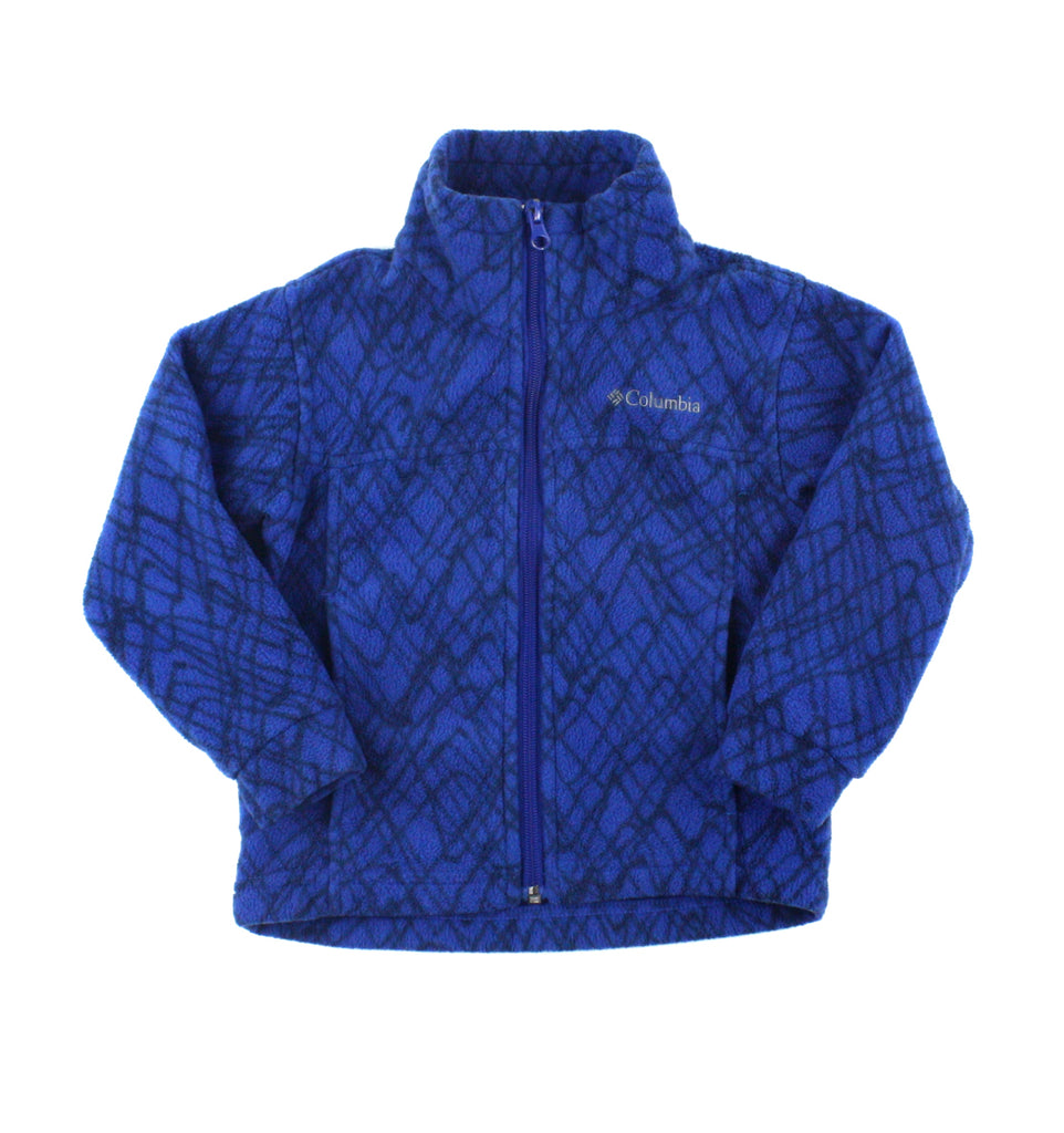 blue fleece, fleece sweater, Columbia sweater, Columbia kids, Columbia boys