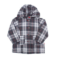 Souris Mini fille, Souris Mini girls, Souris Mini jacket, rain jacket, plaid jacket
