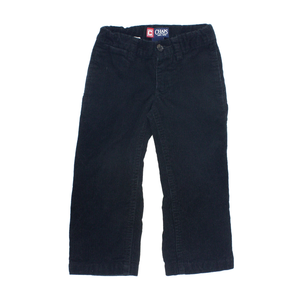 black pants, black corduroys, Chaps pants, black pants for boys