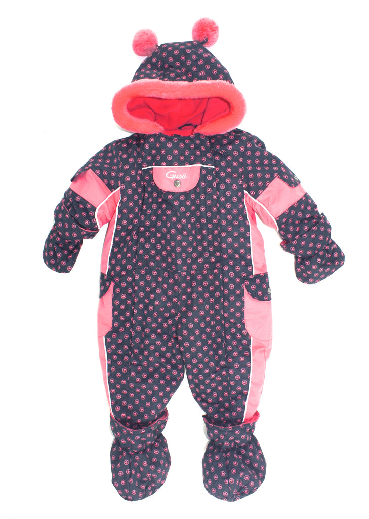 Gusti snowsuit, girls snowsuit, one-piece snowsuit, girls Gusti