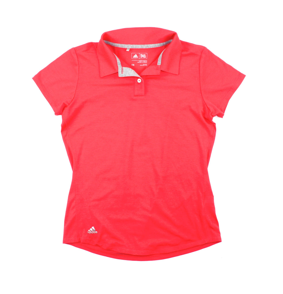 Adidas for girls, Adidas golf shirt, Adidas polo shirt, coral t-shirt
