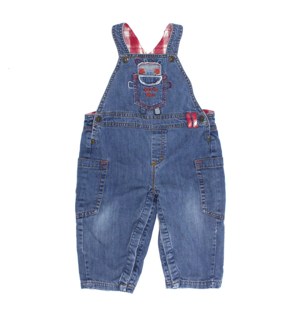 Souris Mini salopette, Souris Mini overalls, denim overalls, boys overalls