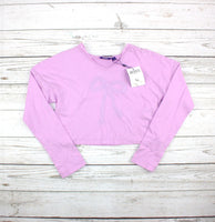 lavender top, Mexx for girls, crop top, purple top