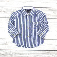 Souris Mini baby, Souris Mini shirt, blue shirt, shirt for baby boys