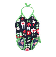 BabyGap swimsuit, floral swimsuit, baby swimsuit