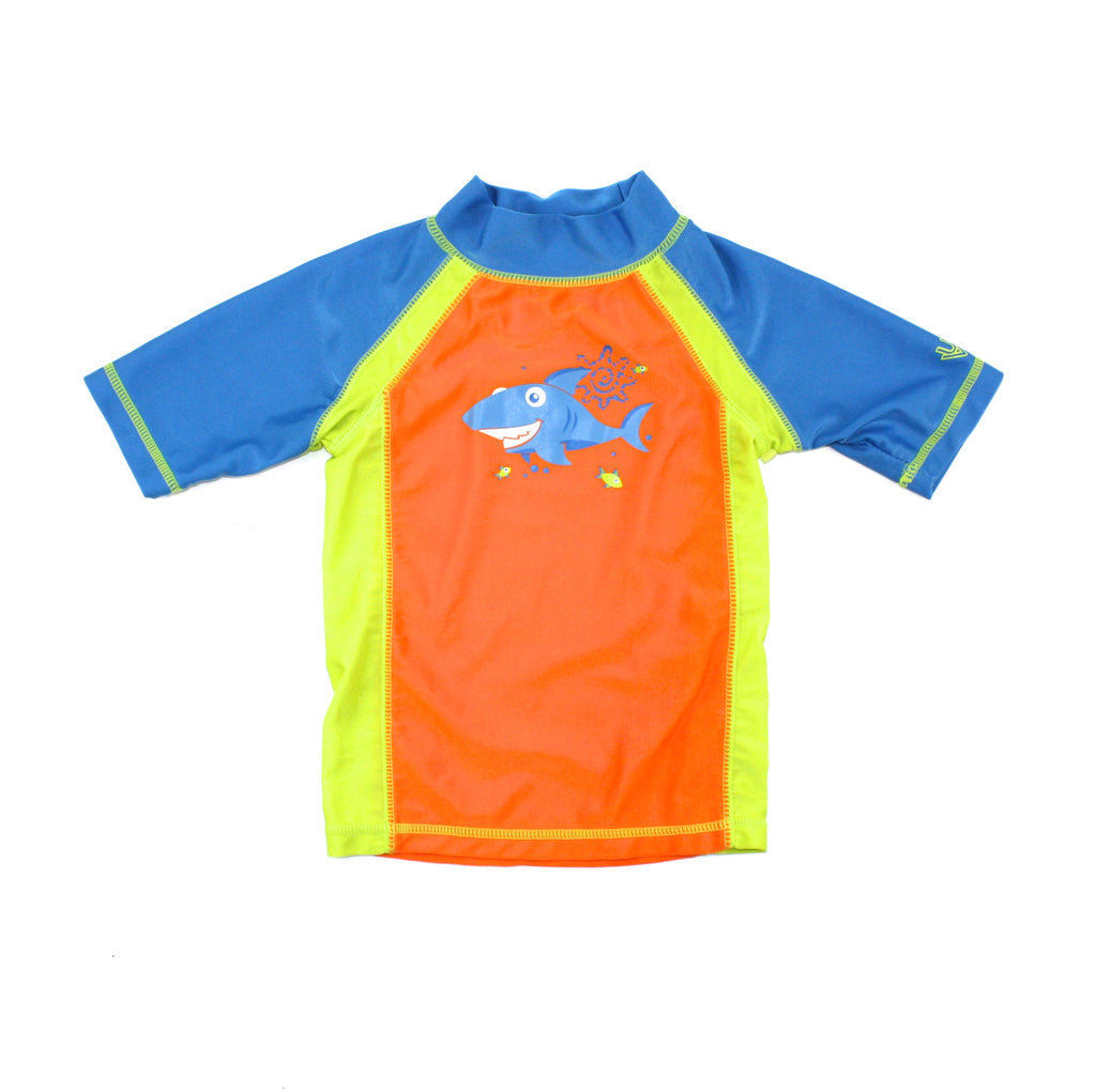 UV Skinz, rashguard for boys, shark rashguard, swimwear for boys