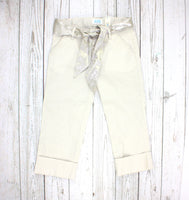 cream pants, Children's Place pants, dress pants for girls, capri pants, capri pants for girls