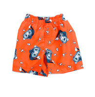 orange swim trunks,  baby swimwear, Children's Place swimwear, boys swimwear