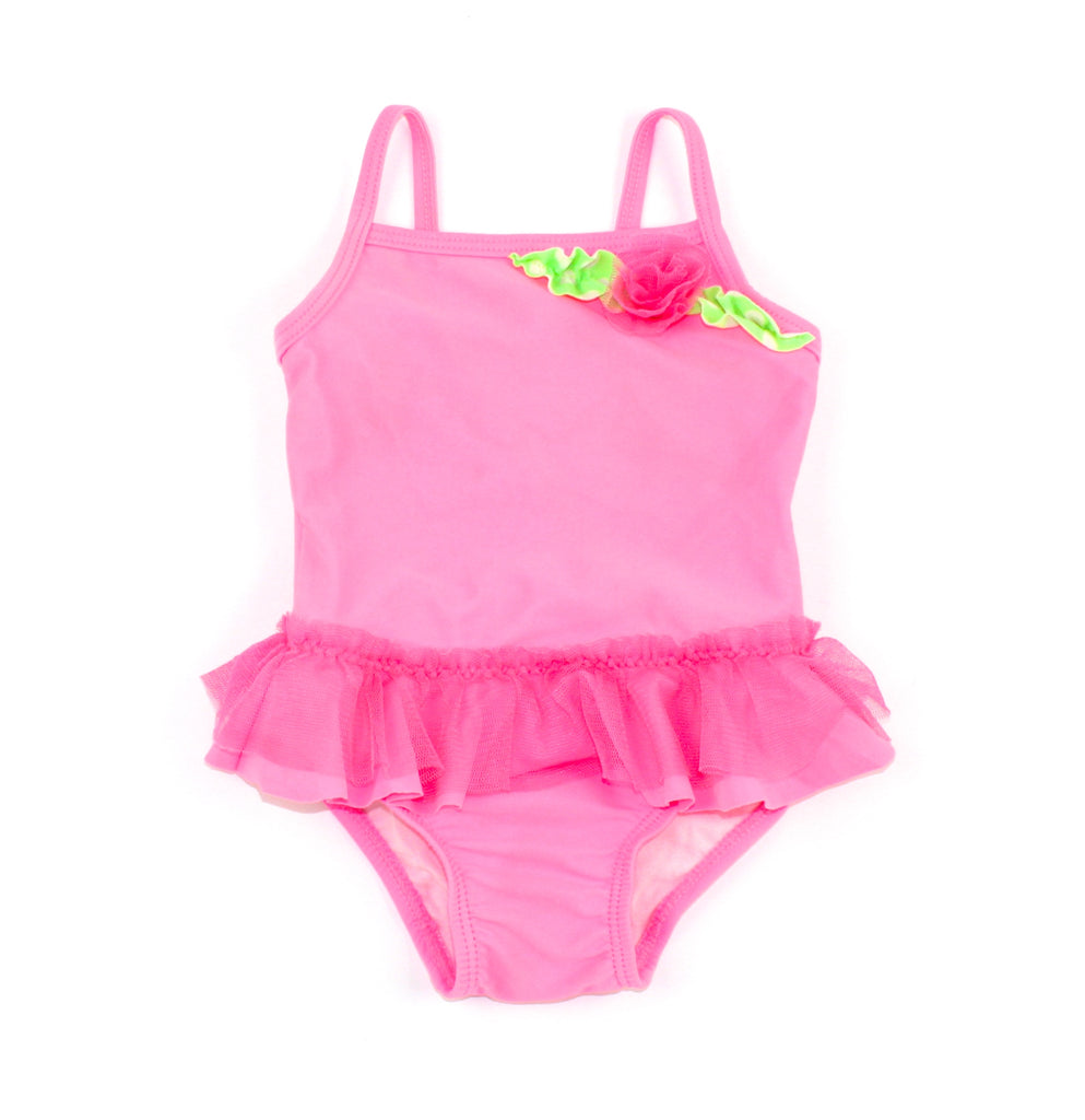 Children's Place swimwear, swimsuit for girls, pink swimsuit