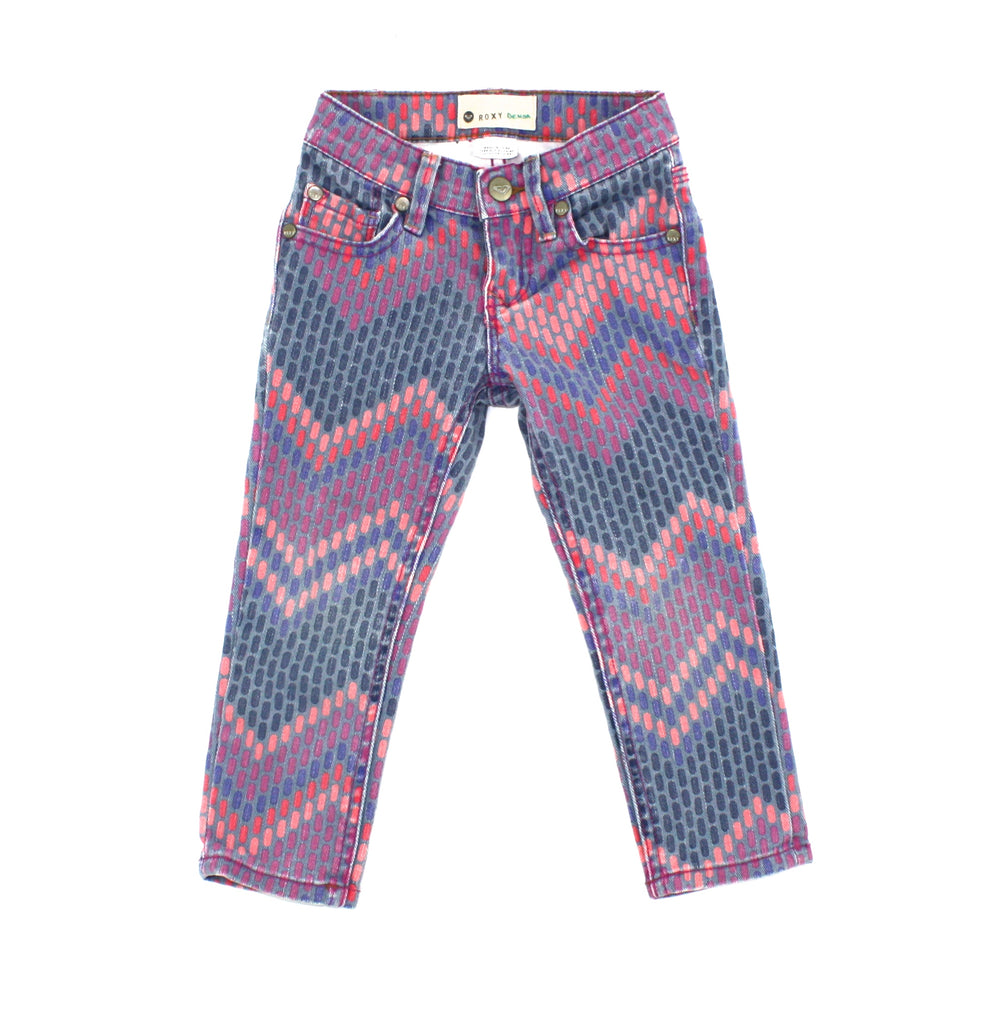 Roxy girls, Roxy jeans, jeans for girls, colourful jeans, toddler jeans