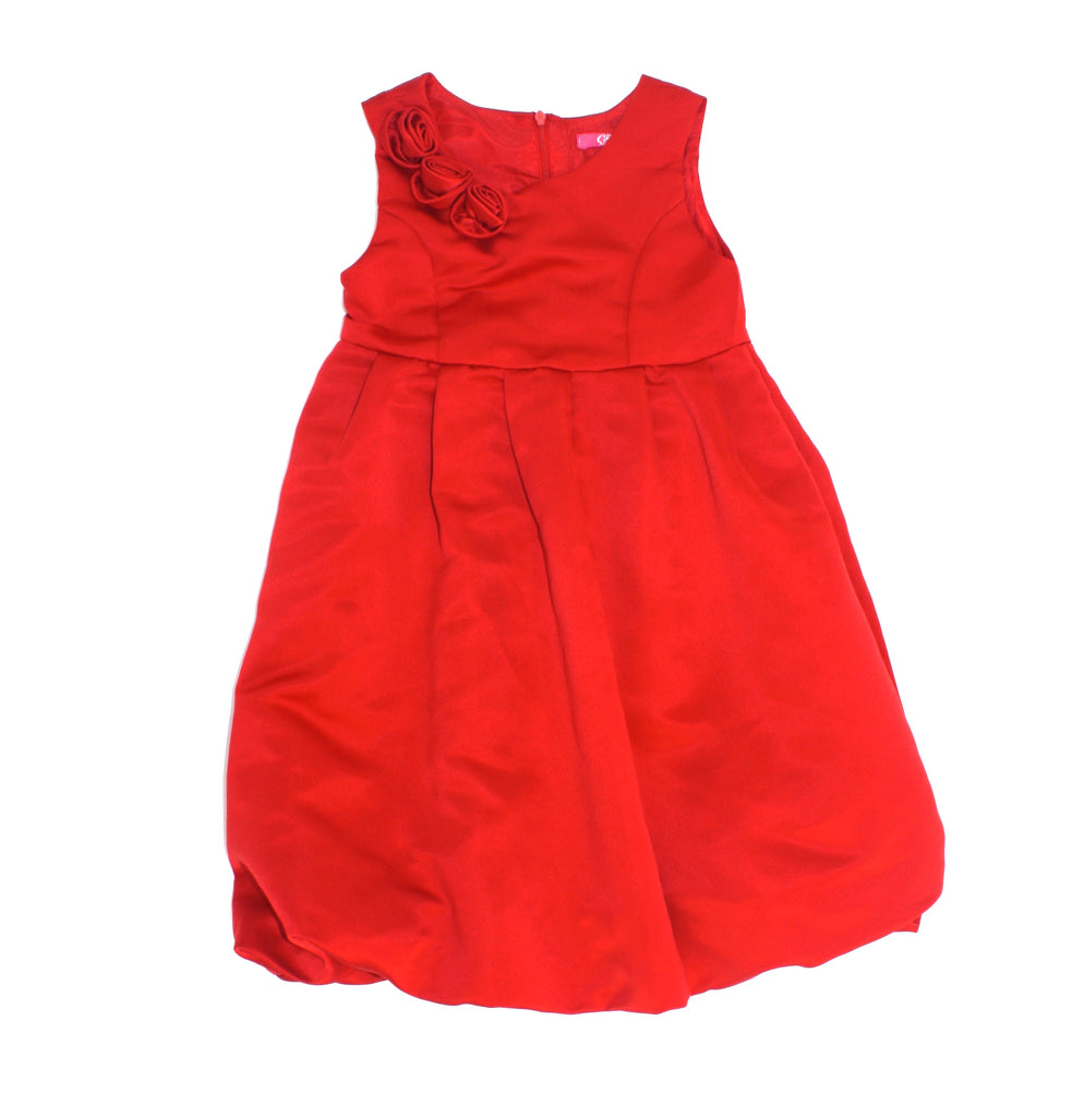 Collini dress, red dress, fancy dress