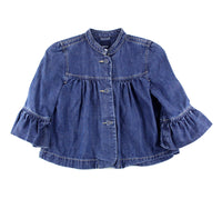 denim top for girls, GapKids denim, Gap denim