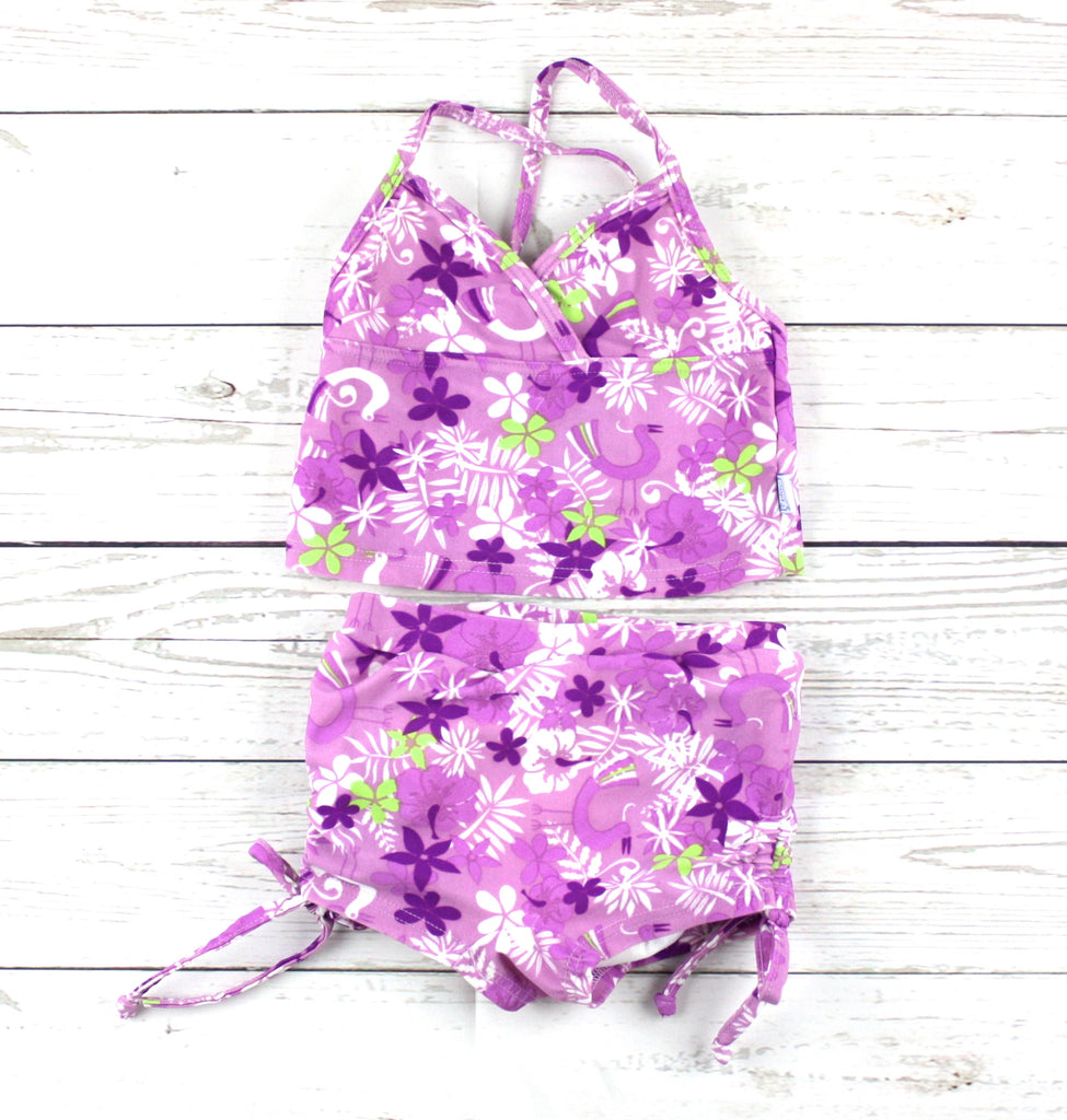 iPlay swimsuit, tankini for babies, floral swimsuit for girls