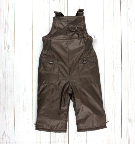 girls snowpants, brown snowpants, Old Navy snowpants