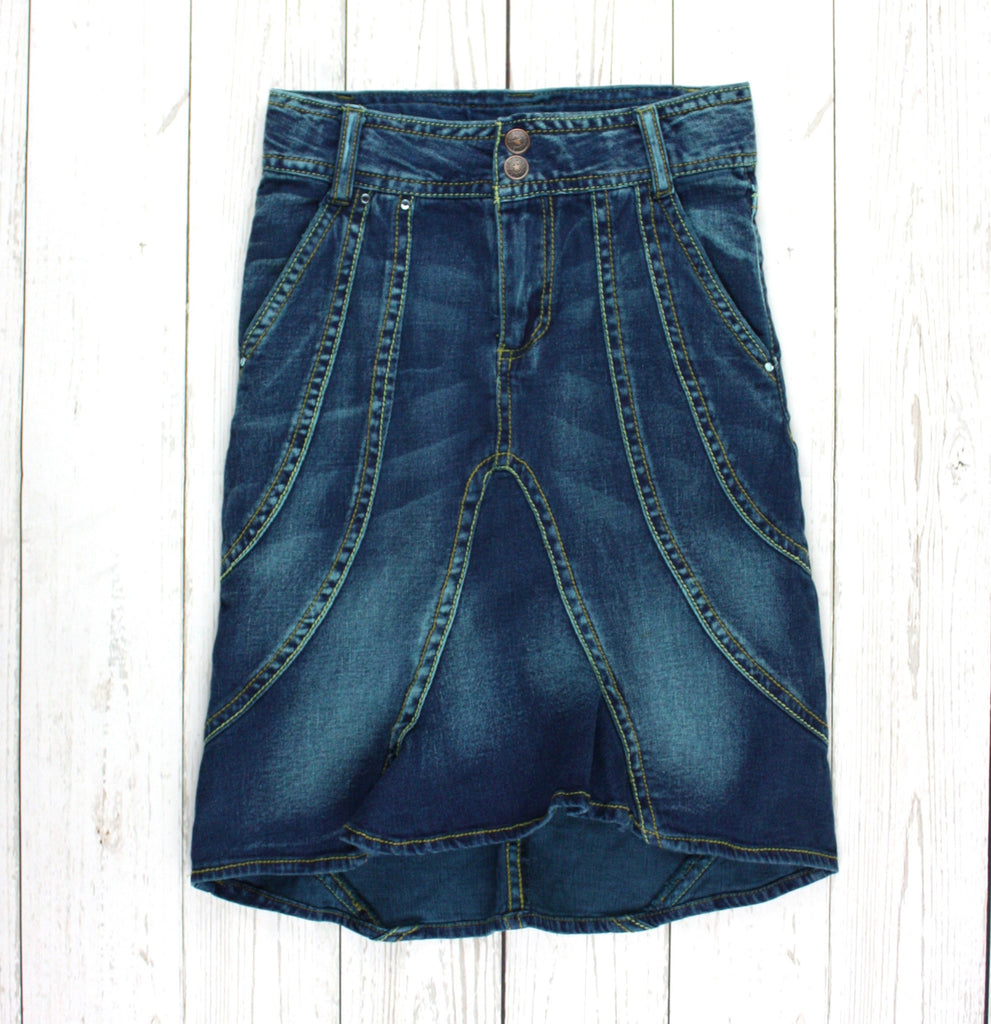 denim skirt, Mary-Kate & Ashley skirt, skirt for girls
