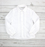 Mexx blouse, shirt for girls, white blouse, white shirt