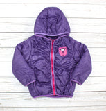 Souris Mini jacket, purple jacket, puffer jacket, girls winter jacket