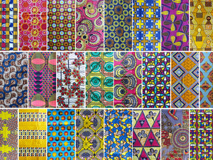 Colorful and crazy ethnic designs