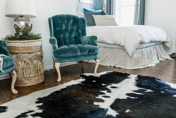 Brindle Cowhide for Bedroom