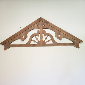Architectural Gable Wall Decor