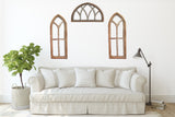 Half Moon Arched Cathedral Farmhouse Window