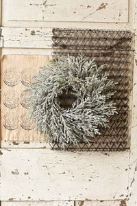 Frosted Winter Wreath