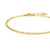 Simple Rolo Chain Bracelet in Gold, Rose Gold, or Silver