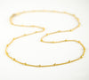 Dew Drops choker Necklace - Gold, rose gold or sterling silver