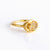 Champagne Citrine Oval Ring - November Birthstone