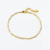Dainty Gold or Silver Loop Chain Bracelet