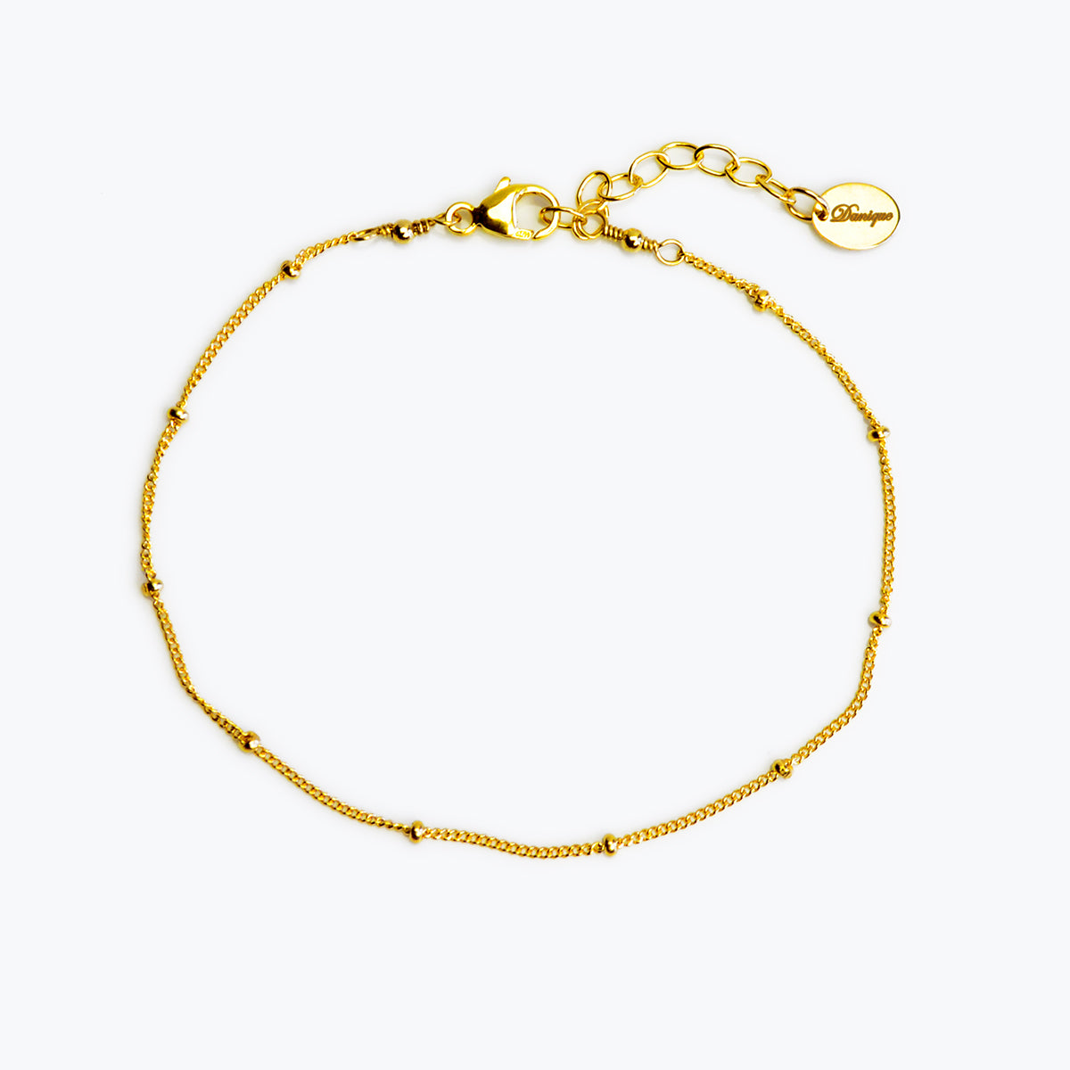 e484a73a7 Delicate Dew Drops Bracelet in Gold, Rose Gold, and Sterling Silver -  Danique Jewelry