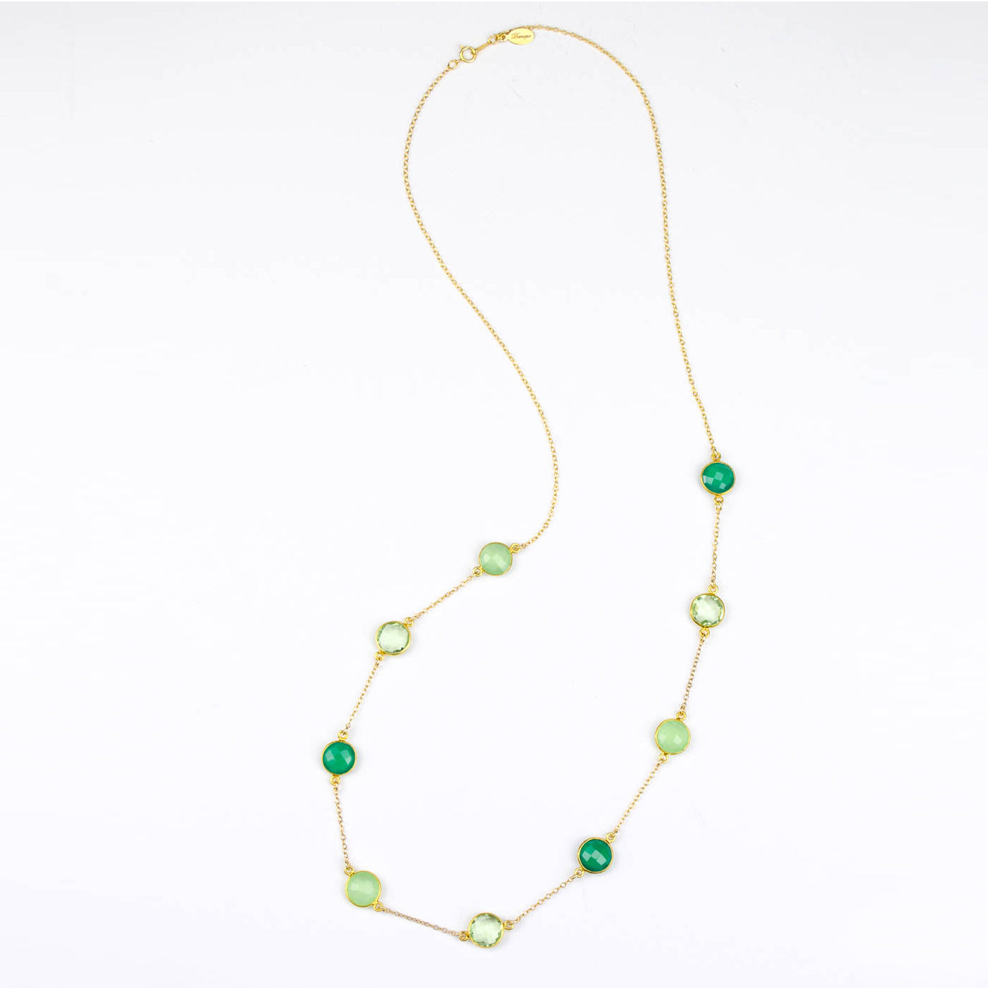 best product green quality onyx necklace natural s rosary mala beads